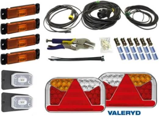 Докладніше про Електрична система та освітлення причепів